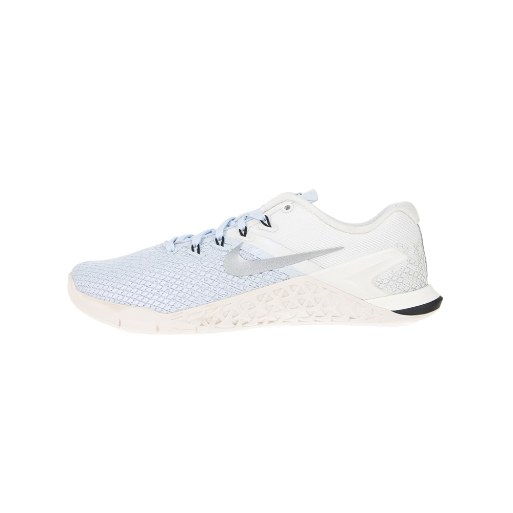 NIKE – Γυναικεία παπούτσια προπόνησης Nike Metcon 4 XD Metallic λευκά