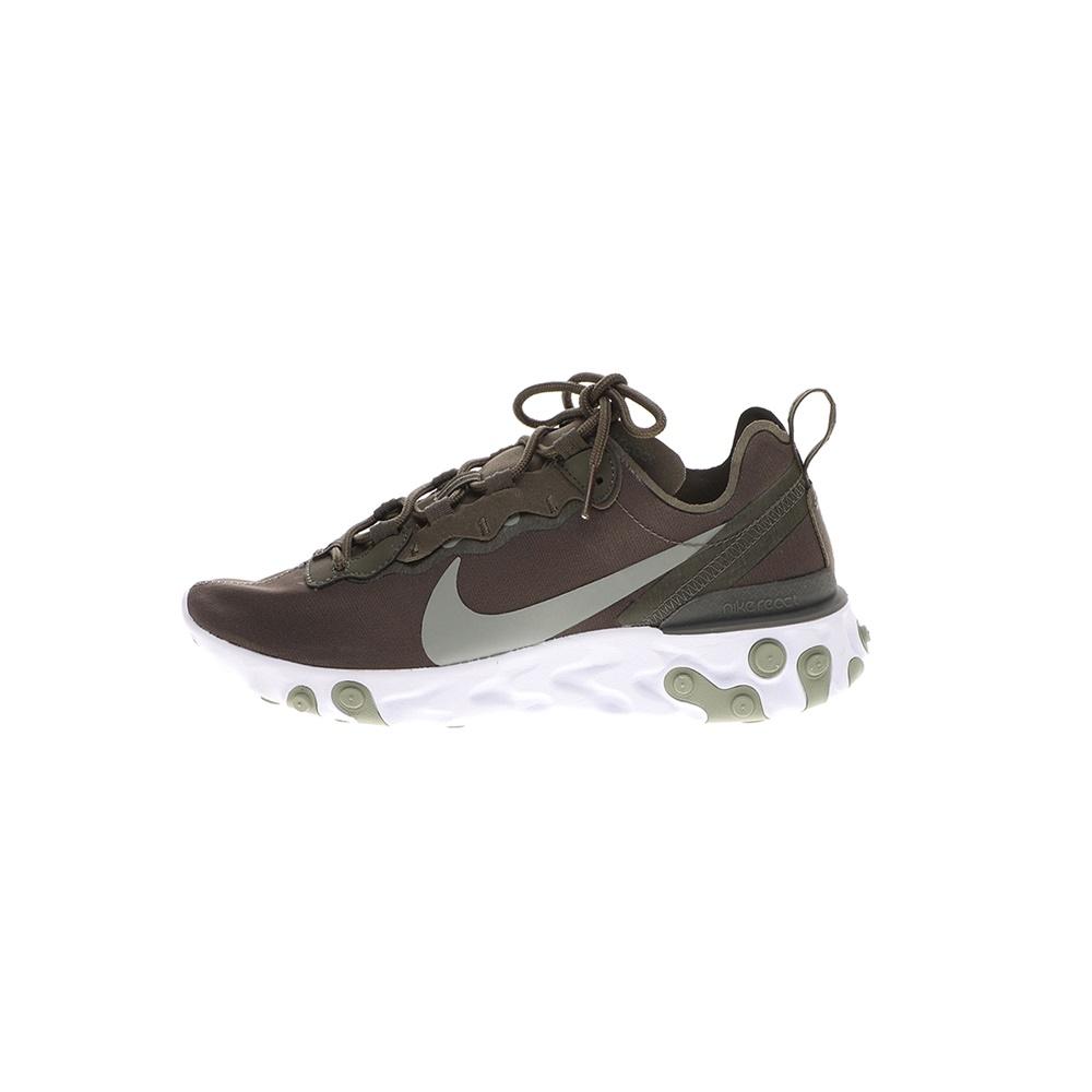 NIKE – Γυναικεία αθλητικά παπούτσια NIKE REACT ELEMENT 55 χακί