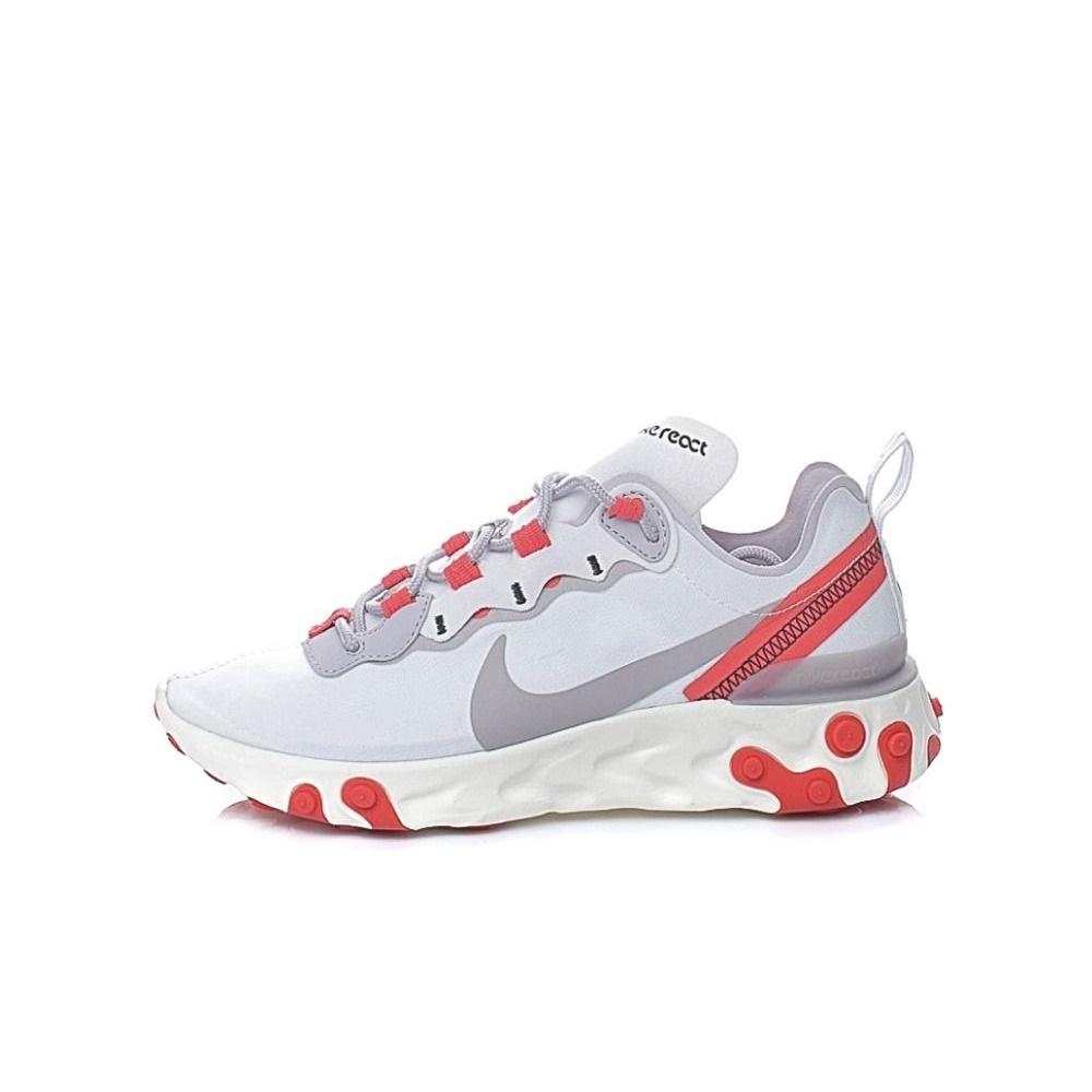 NIKE – Γυναικεία παπούτσια running NIKE REACT ELEMENT 55 λευκά