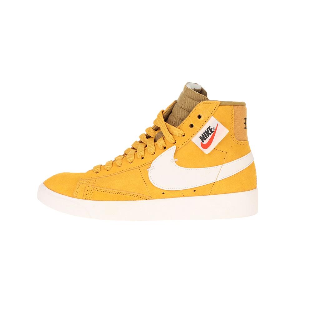 NIKE – Γυναικεία παπούτσια NIKE BLAZER MID REBEL κίτρινα