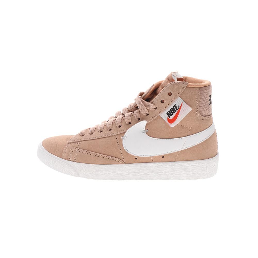 NIKE – Γυναικεία παπούτσια basketball BLAZER MID REBEL μπεζ