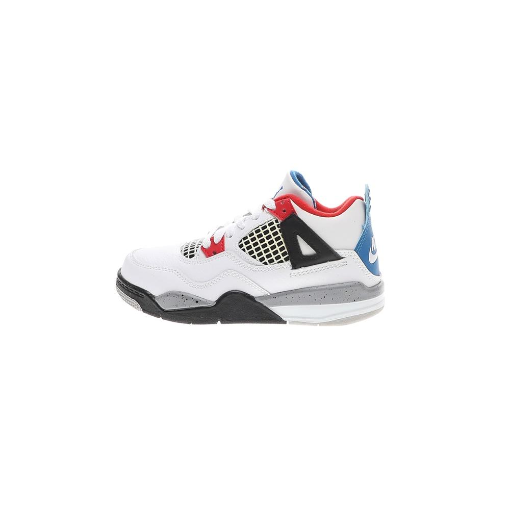 NIKE – Παιδικά παπούτσια NIKE JORDAN 4 RETRO (PS) λευκά