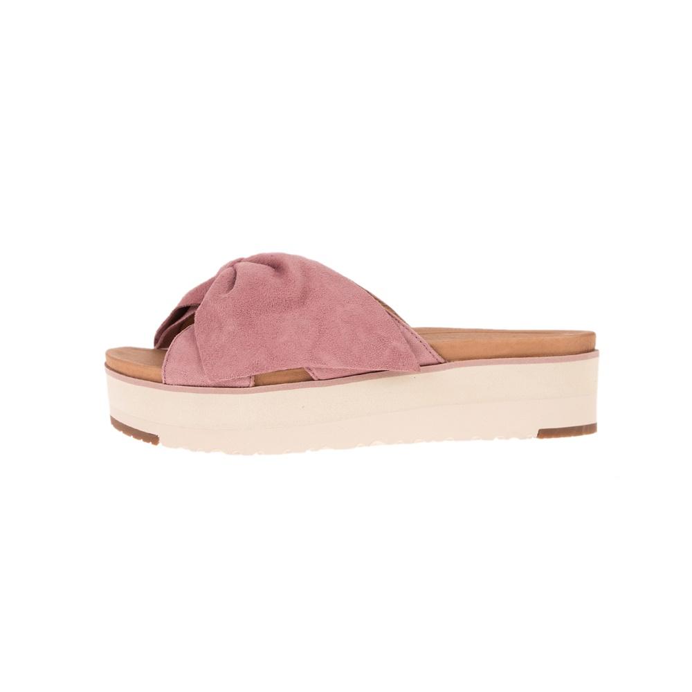 UGG – Γυναικείες πλατφόρμες UGG JOAN II ροζ
