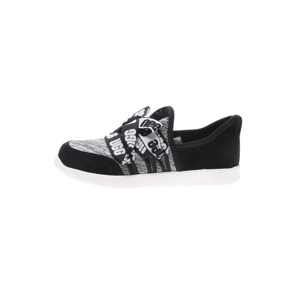 UGG – Παιδικά sneakers UGG K SEAWAY μαύρα γκρι