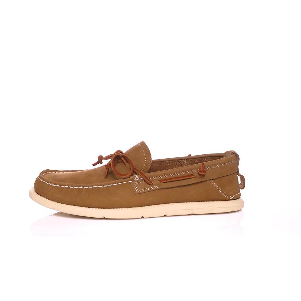 UGG – Ανδρικά παπούτσια UGG BEACH MOC SLIP-ON καφέ
