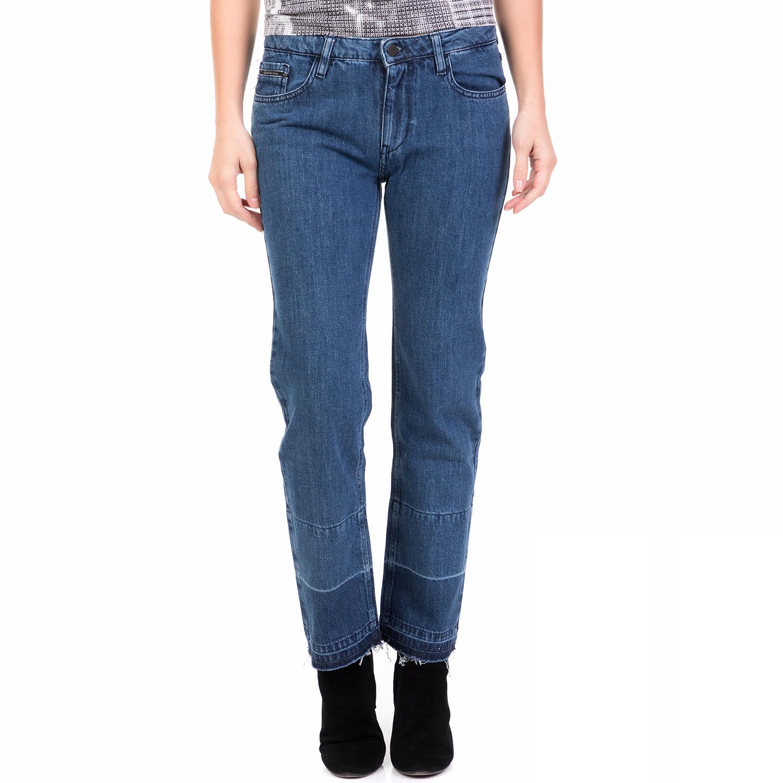 04fa31112b77 CALVIN KLEIN JEANS - Γυναικείο τζιν παντελόνι MID RISE STRAIGHT CALVIN  KLEIN JEANS μπλε
