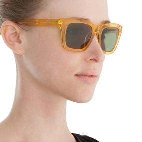 FOLLI FOLLIE. Γυναικεία γυαλιά ηλίου διάφανα FOLLI FOLLIE πορτοκαλί 014e00c042b