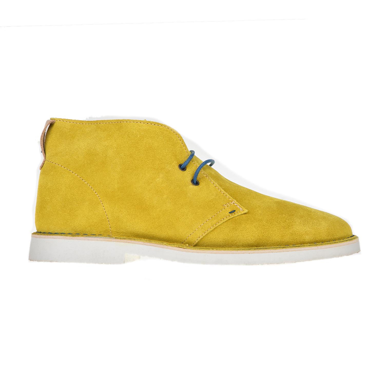 PERLAMODA – Ανδρικά δετά μποτάκια PERLAMODA κίτρινα