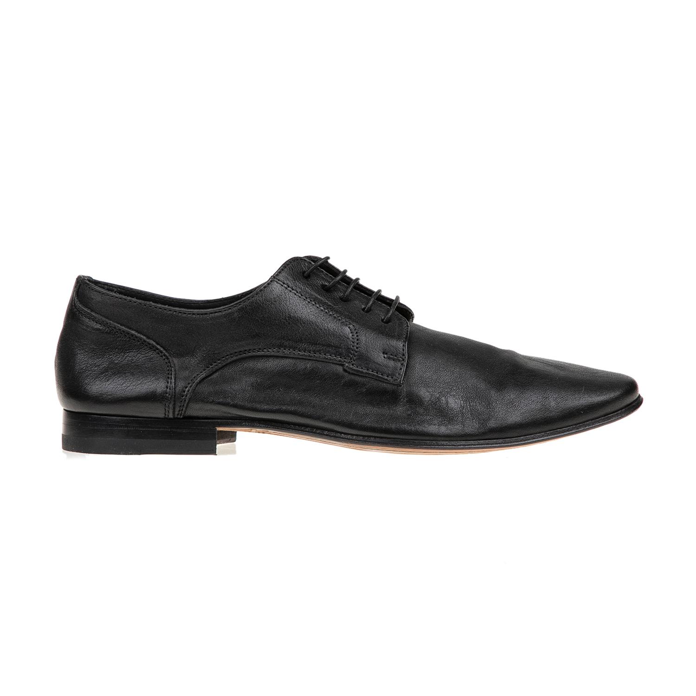 PERLAMODA – Ανδρικά δετά παπούτσια PERLAMODA μαύρα