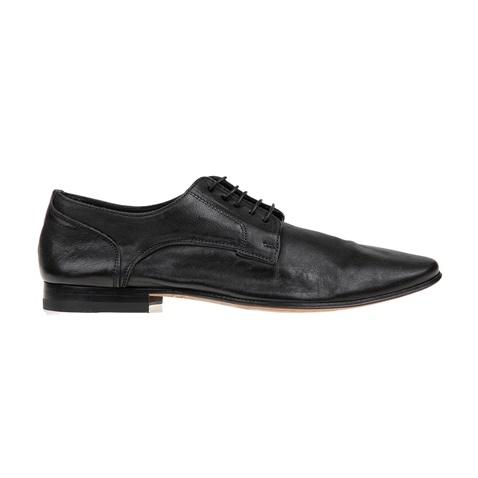 Ανδρικά δετά παπούτσια PERLAMODA μαύρα (1693739.0-7171)  e9f441b905f