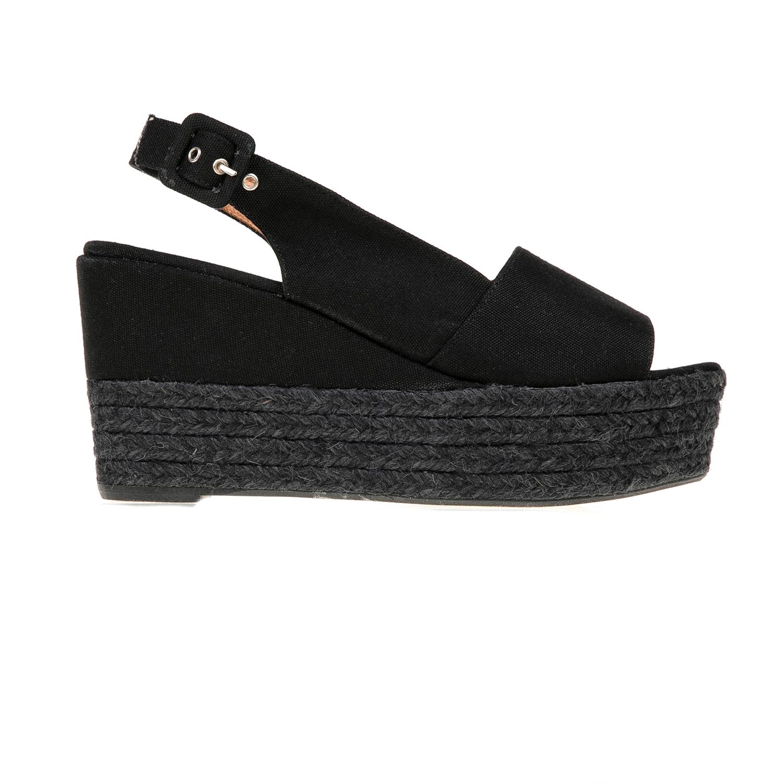 FRAU – Γυναικείες πλατφόρμες με σχοινί FRAU μαύρες