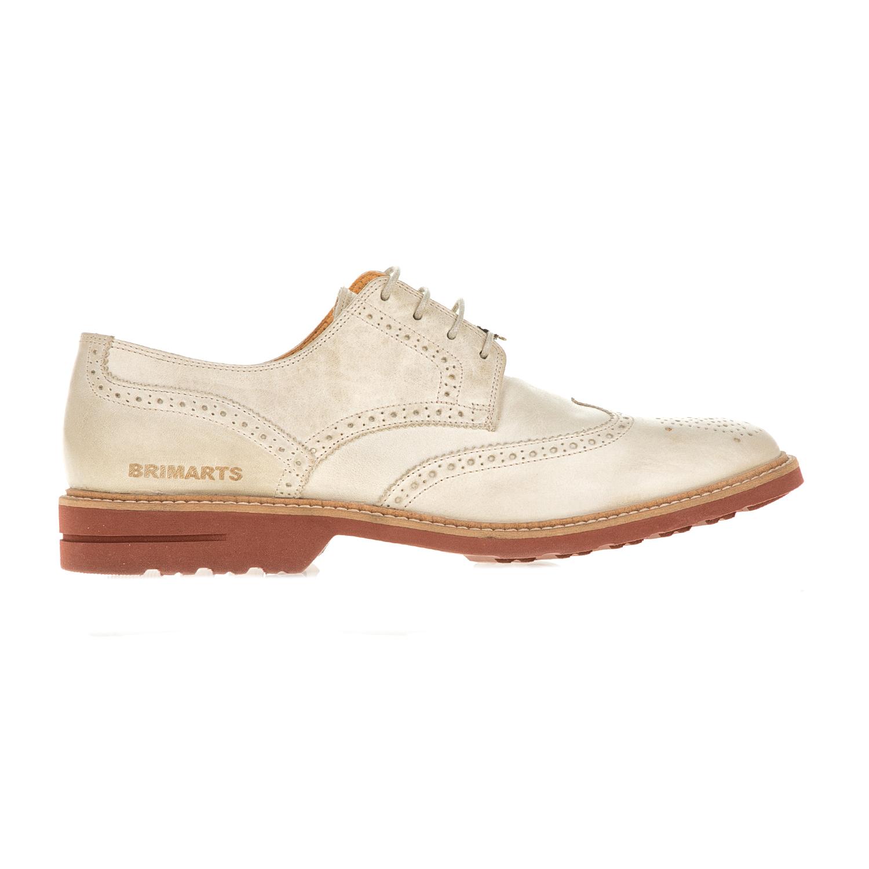 BRIMARTS – Ανδρικά δετά oxford παπούτσια BRIMARTS μπεζ