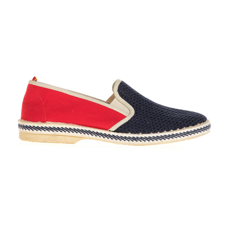PERLAMODA – Ανδρικά παπούτσια PERLAMODA μπλε-κόκκινα