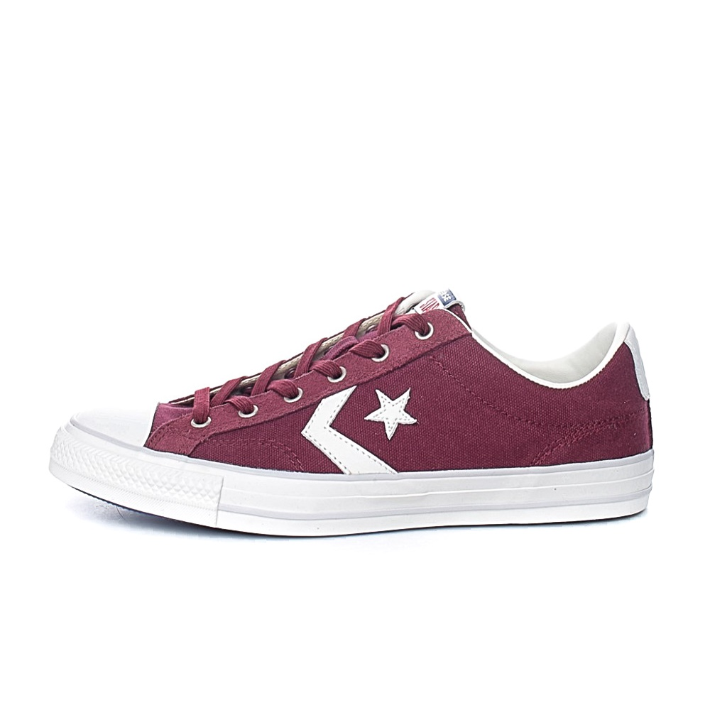 CONVERSE – Unisex sneakers CONVERSE STAR PLAYER OX μπορντό
