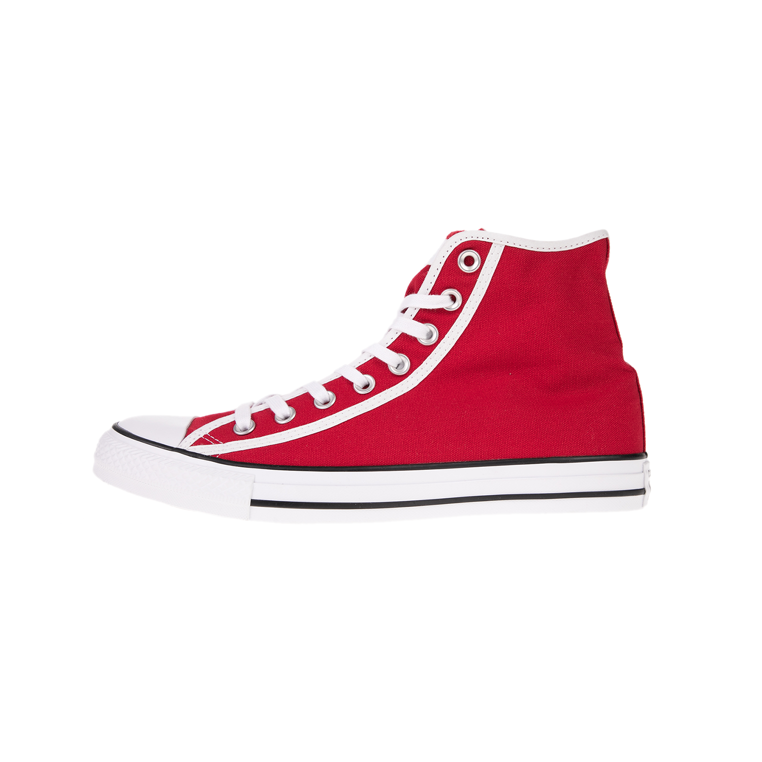 CONVERSE – Unisex sneakers CONVERSE CHUCK TAYLOR ALL STAR HI κόκκινα