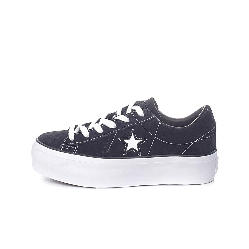 CONVERSE – Γυναικεία sneakers CONVERSE ONE STAR μαύρα