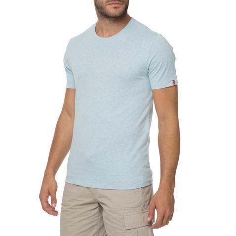LEVI S. Σετ από 2 ανδρικές κοντομάνικες μπλούζες LEVI S SLIM γκρι και  γαλάζια dcd7468caff
