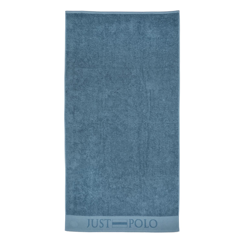 JUST POLO - Unisex πετσέτα θαλάσσης JUST POLO μπλε γυναικεία αξεσουάρ πετσέτες