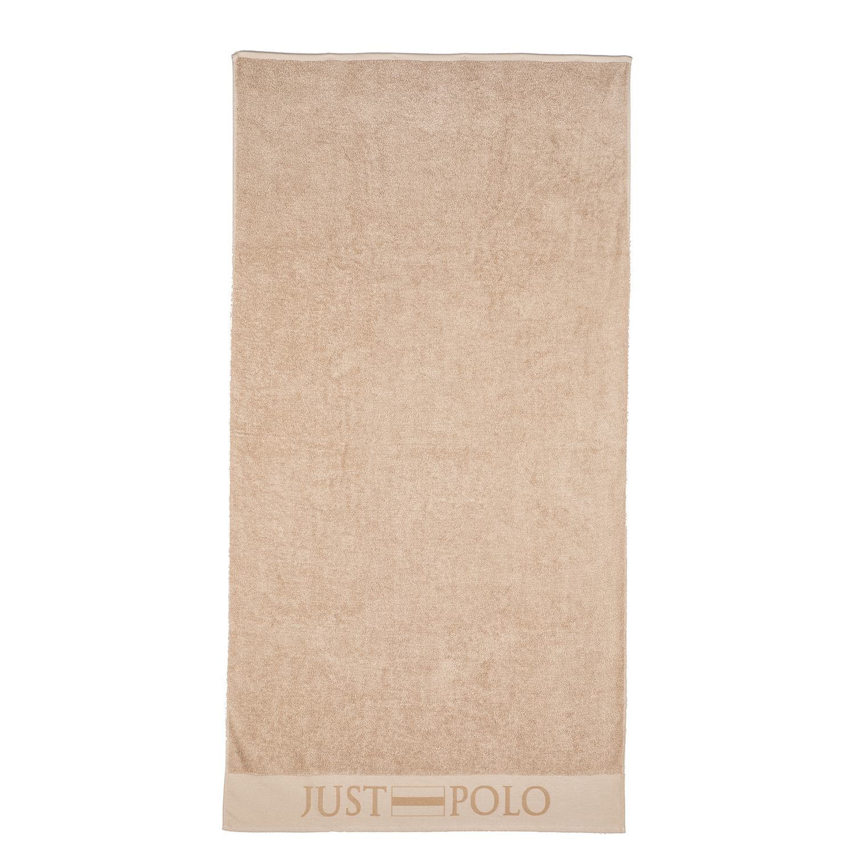 JUST POLO - Unisex πετσέτα θαλάσσης JUST POLO μπεζ γυναικεία αξεσουάρ πετσέτες
