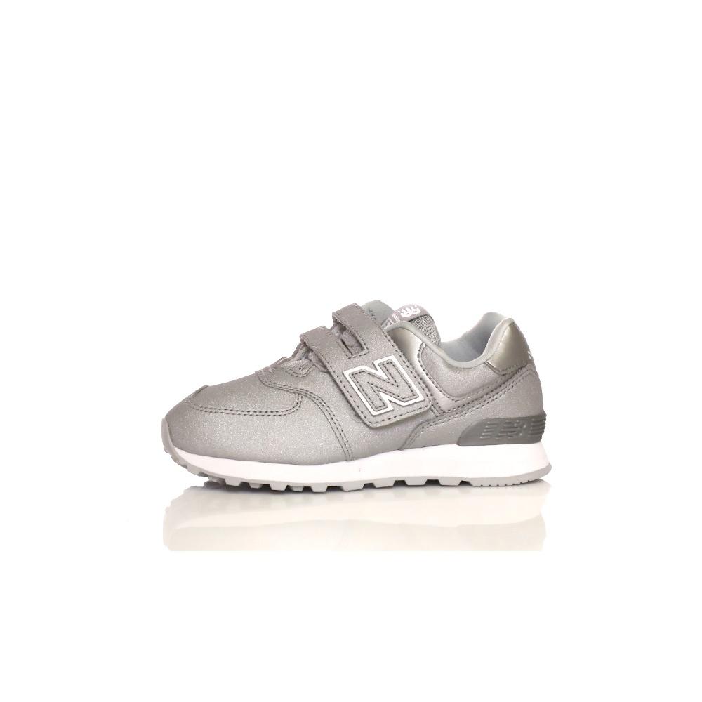 NEW BALANCE – Κοριτσίστικα παπούτσια CLASSICS γκρι-ασημί
