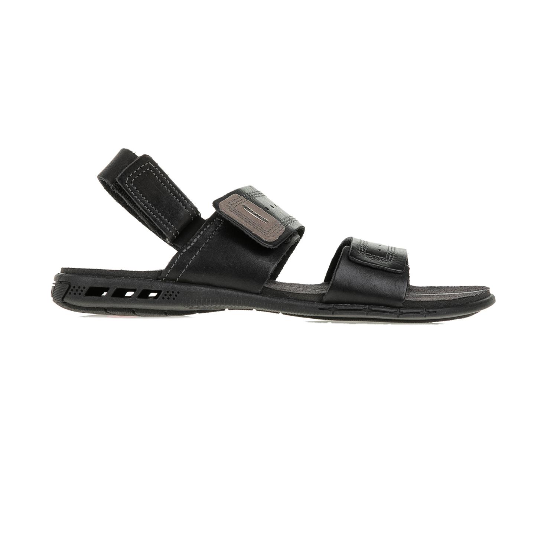 PEGADA - Ανδρικά πέδιλα με βέλκρο PEGADA μαύρα ανδρικά παπούτσια πέδιλα
