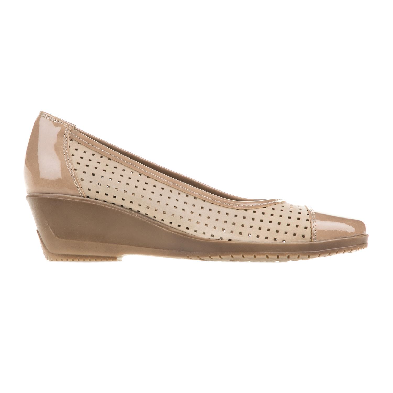 Πλατφόρμες μωβ σουέτ χιαστή με πολύχρωμη σόλα - Roe Shoes Collection 6d24904acd9