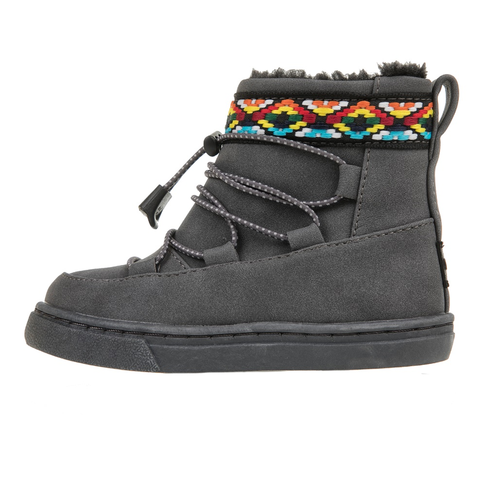 TOMS – Βρεφικές σουέντ μπότες TOMS γκρι
