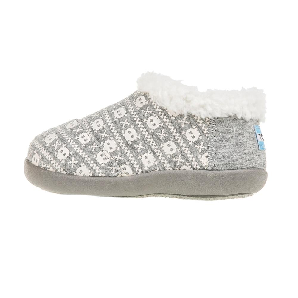 TOMS - Παιδικές παντόφλεςTOMS γκρι παιδικά girls παπούτσια παντόφλες