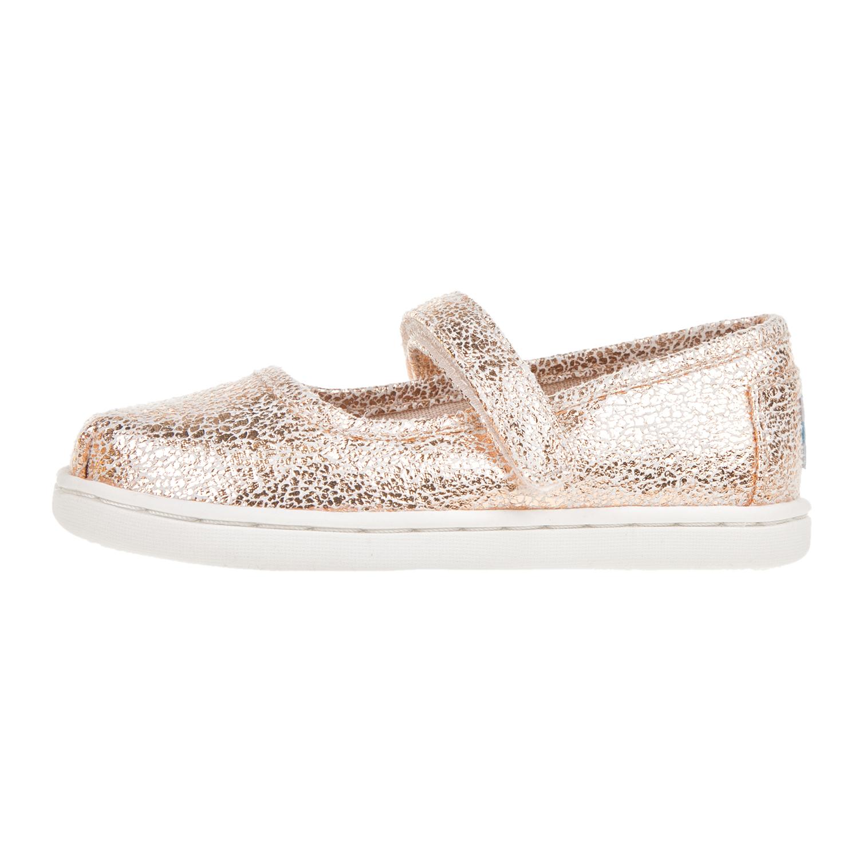 new product 5fb2b 3f1b3 ... TOMS - Βρεφικά casual παπούτσια για κορίτσια TOMS ροζ-χρυσά