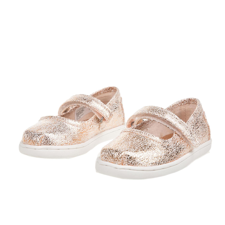 f61a13c3118 TOMS - Παιδικά casual παπούτσια για κορίτσια TOMS ροζ-χρυσά, ΠΑΙΔΙ |  ΠΑΠΟΥΤΣΙΑ | CASUAL