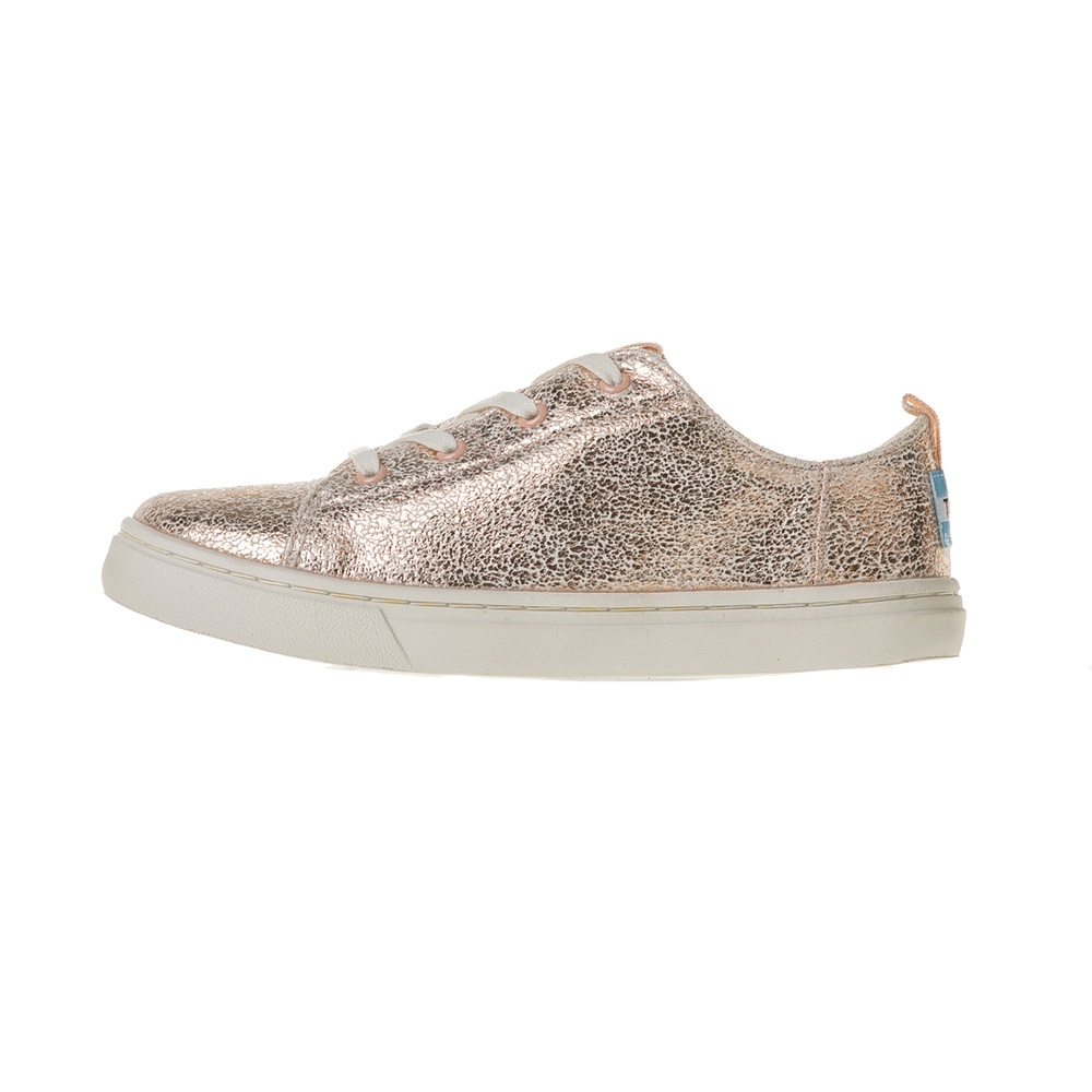 TOMS – Κοριτσίστικα sneakers TOMS ροζ μεταλλικά