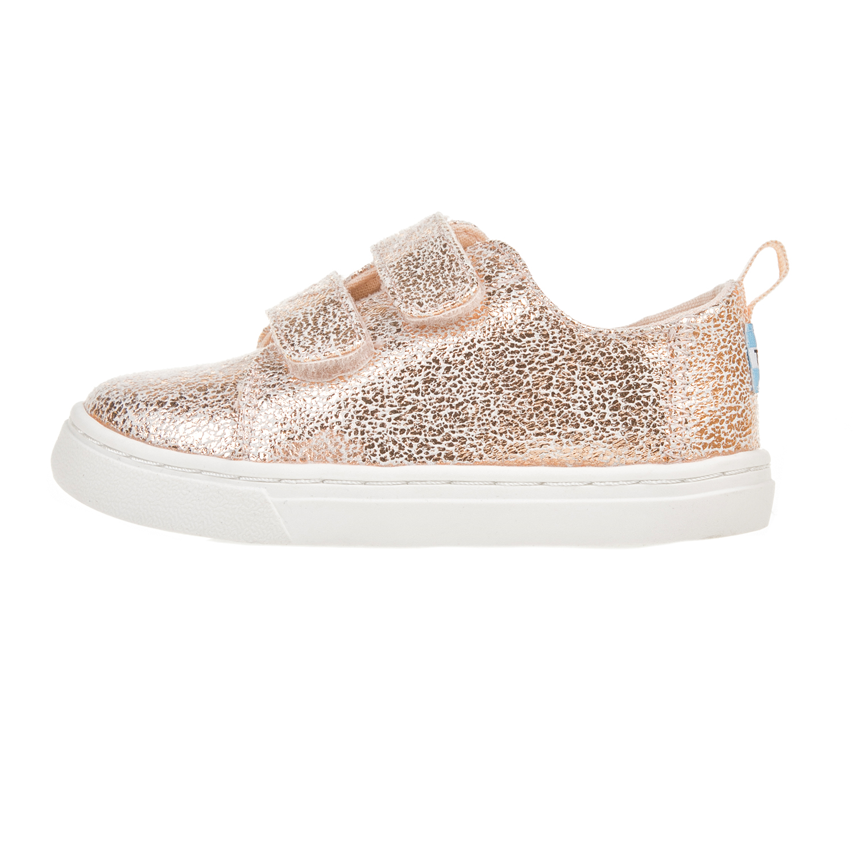 TOMS – Παιδικά sneakers για κορίτσια TOMS ροζ-χρυσά
