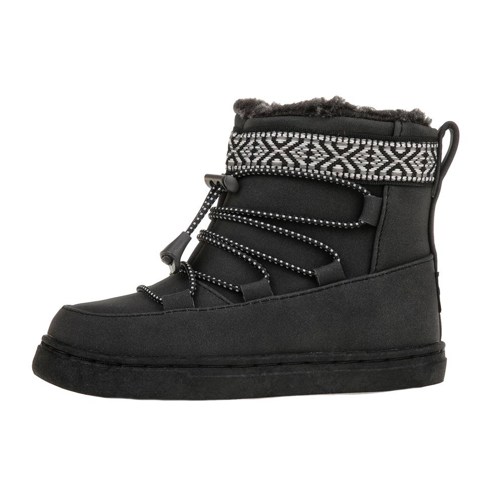 TOMS – Βρεφικές σουέντ μπότες TOMS μαύρες