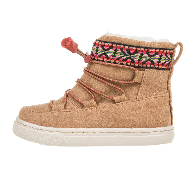 TOMS – Βρεφικές σουέντ μπότες TOMS καφέ