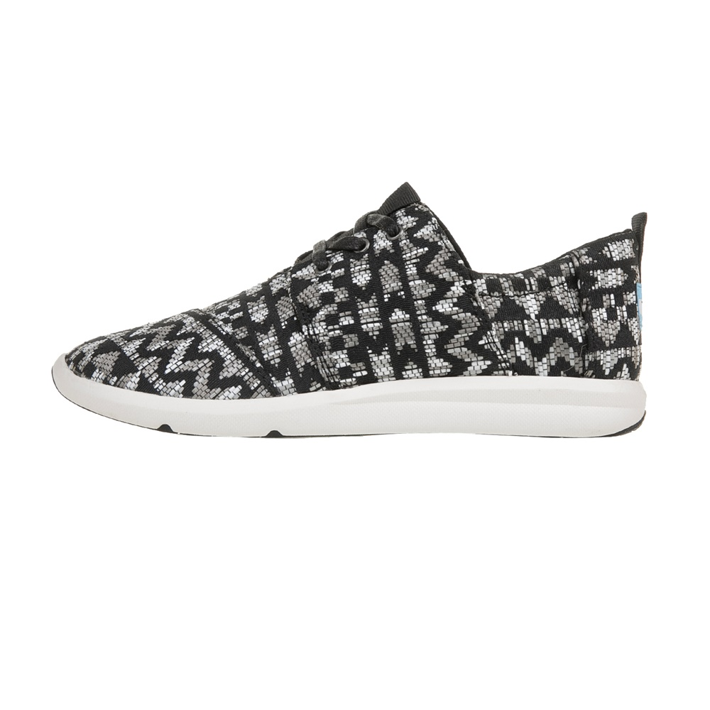 TOMS – Γυναικεία sneakers TOMS CLRFUL TRIBAL μαύρα-γκρι