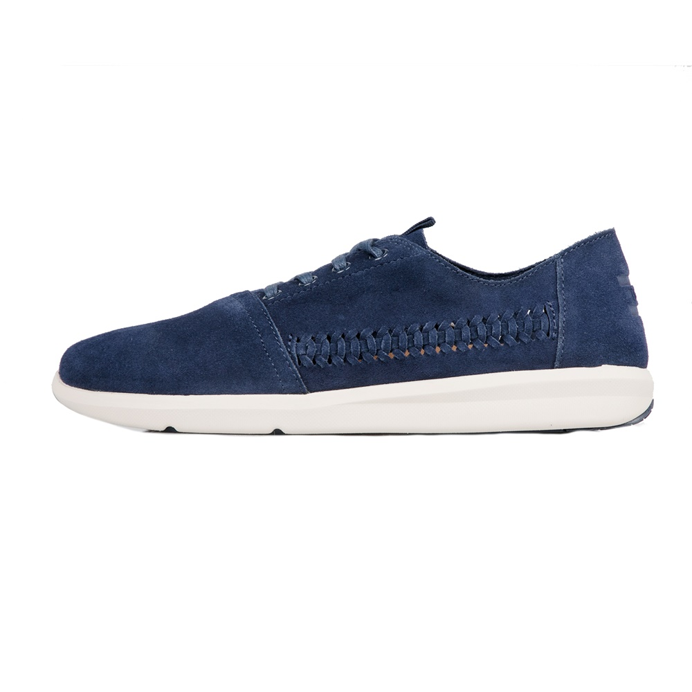 TOMS – Ανδρικά σουέντ sneakers TOMS μπλε