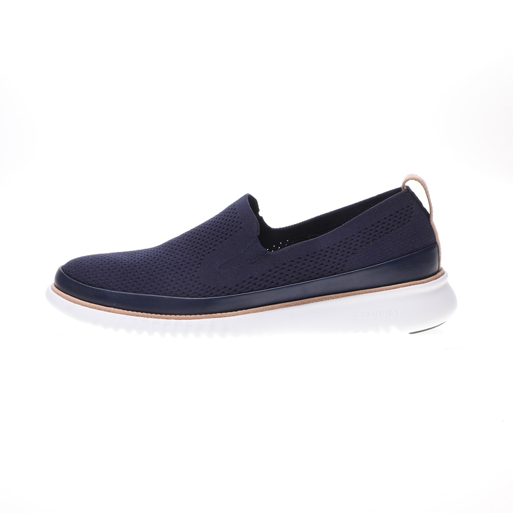 COLE HAAN – Ανδρικά παπούτσια slip on COLE HAAN 2.ZEROGRAND STITCHLITE μπλε