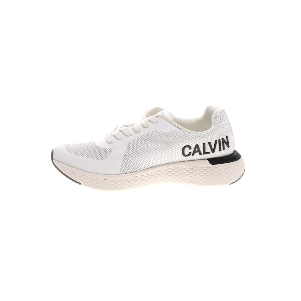 CALVIN KLEIN JEANS – Ανδρικά sneakers CALVIN KLEIN JEANS AMOS λευκά