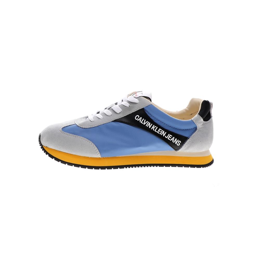 CALVIN KLEIN JEANS – Ανδρικά sneakers CALVIN KLEIN JEANS JERROLD μπλε γκρι