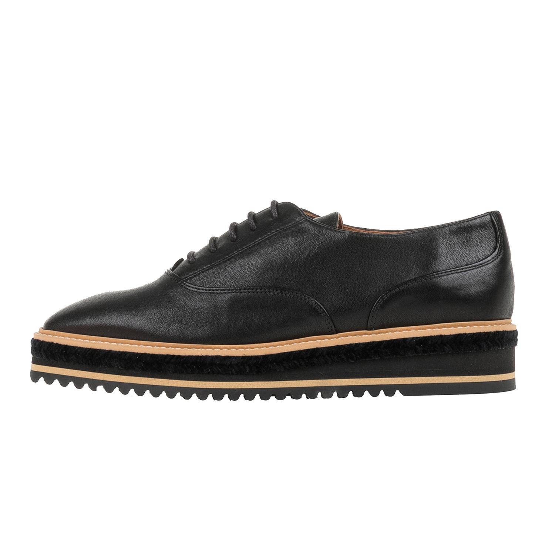 CASTANER – Γυναικεία δετά flatforms παπούτσια CASTANER FUNES μαύρα