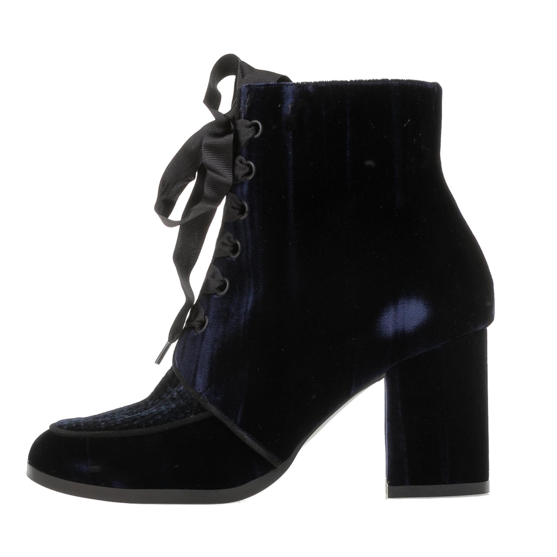 CASTANER – Γυναικεία βελούδινα μποτάκια CASTANER XIAN μπλε
