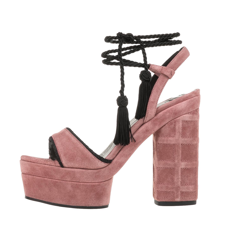 42068ca5eec CASTANER - Γυναικεία σουέντ πέδιλα CASTANER ALAMOS ροζ