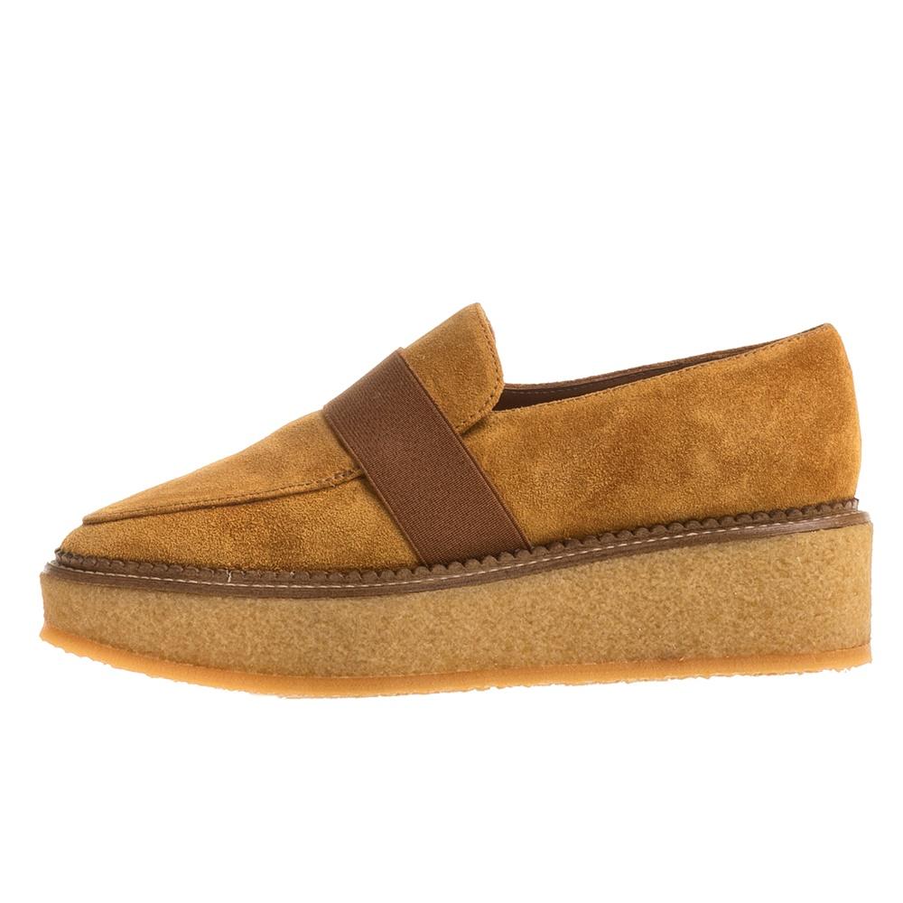 CASTANER - Γυναικεία flatforms παπούτσια CASTANER FONTANA καφέ-κίτρινο γυναικεία παπούτσια πλατφόρμες