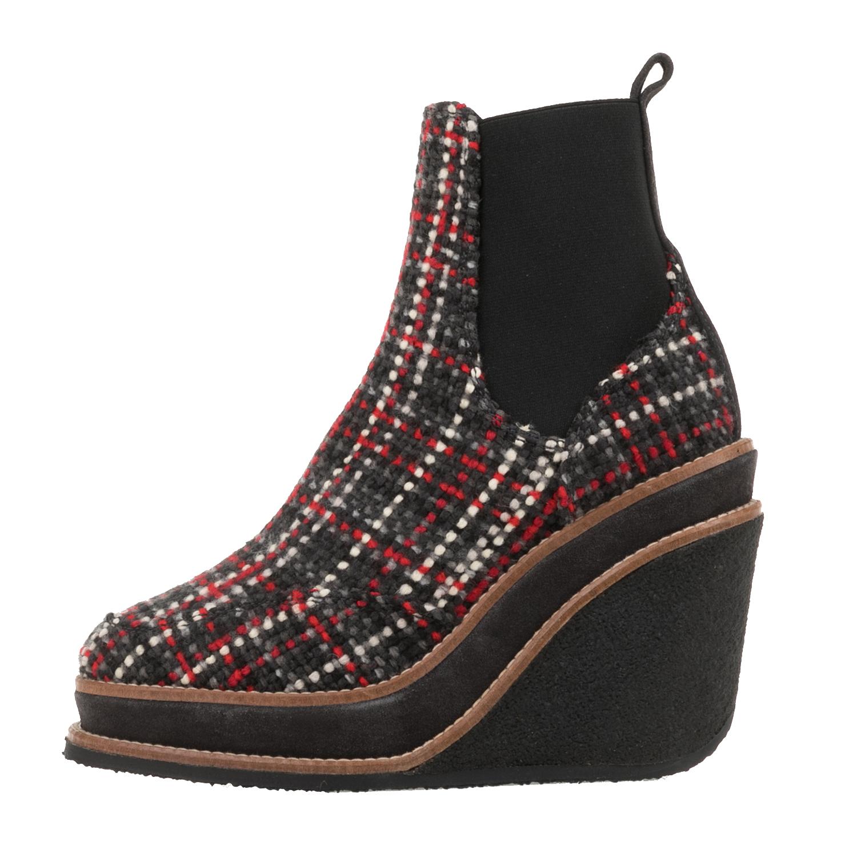 6a18222348 CASTANER – Γυναικεία tweed μποτάκια CASTANER TUCUMAN πολύχρωμα.  Factoryoutlet