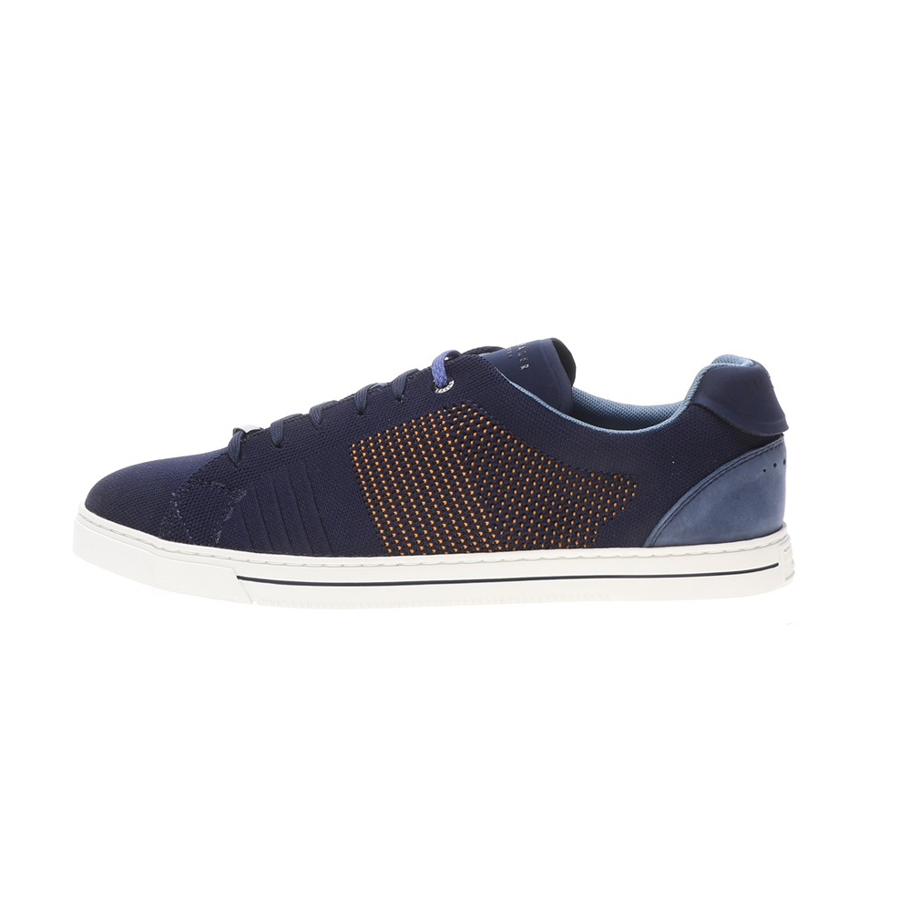 TED BAKER – Ανδρικά sneakers TED BAKER PLOWNS μπλε κίτρινα