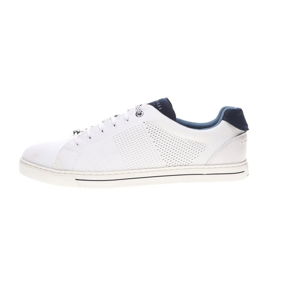 TED BAKER – Ανδρικά sneakers TED BAKER PLOWNS λευκά