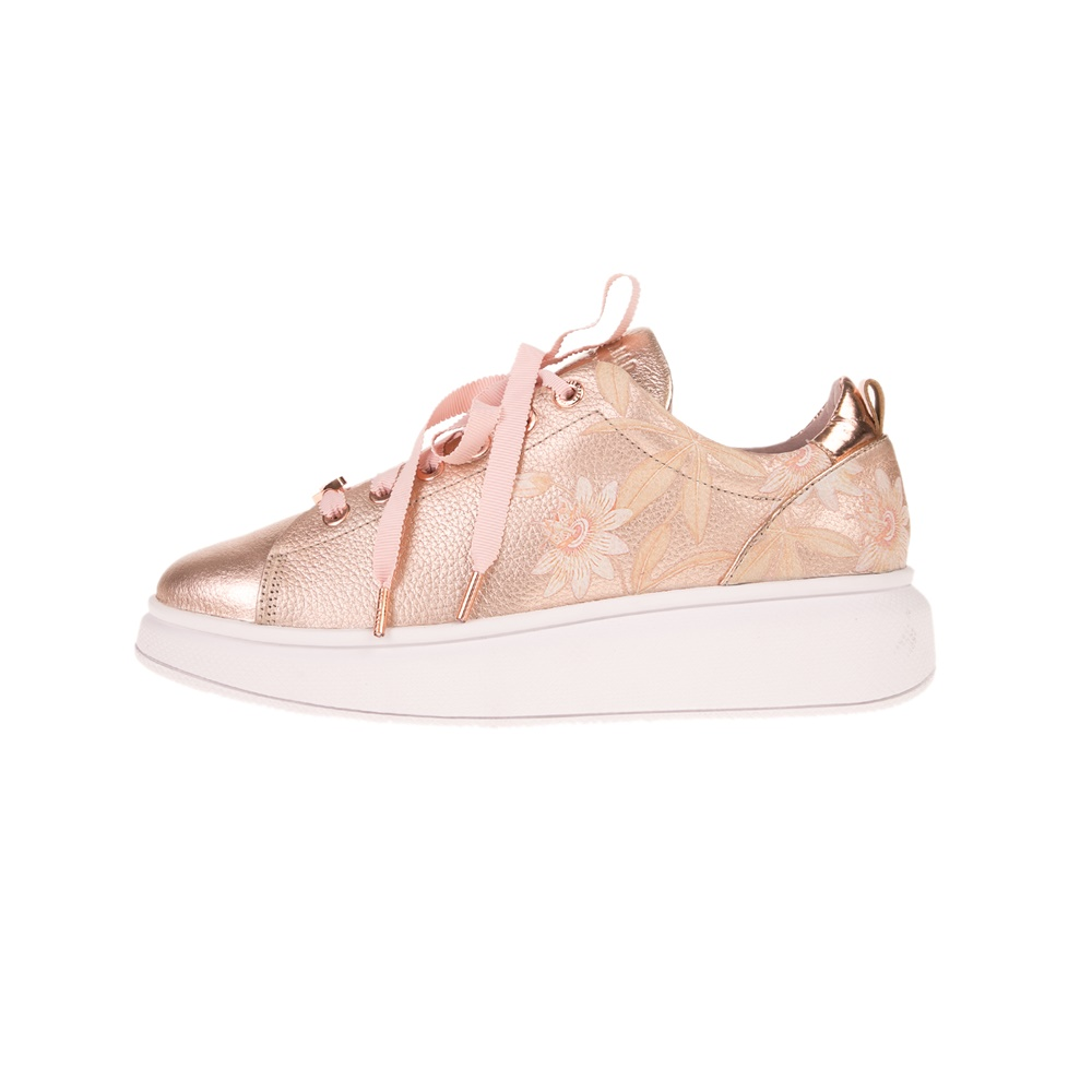 TED BAKER – Γυναικεία sneakers TED BAKER AILBE 4 ροζ χρυσά