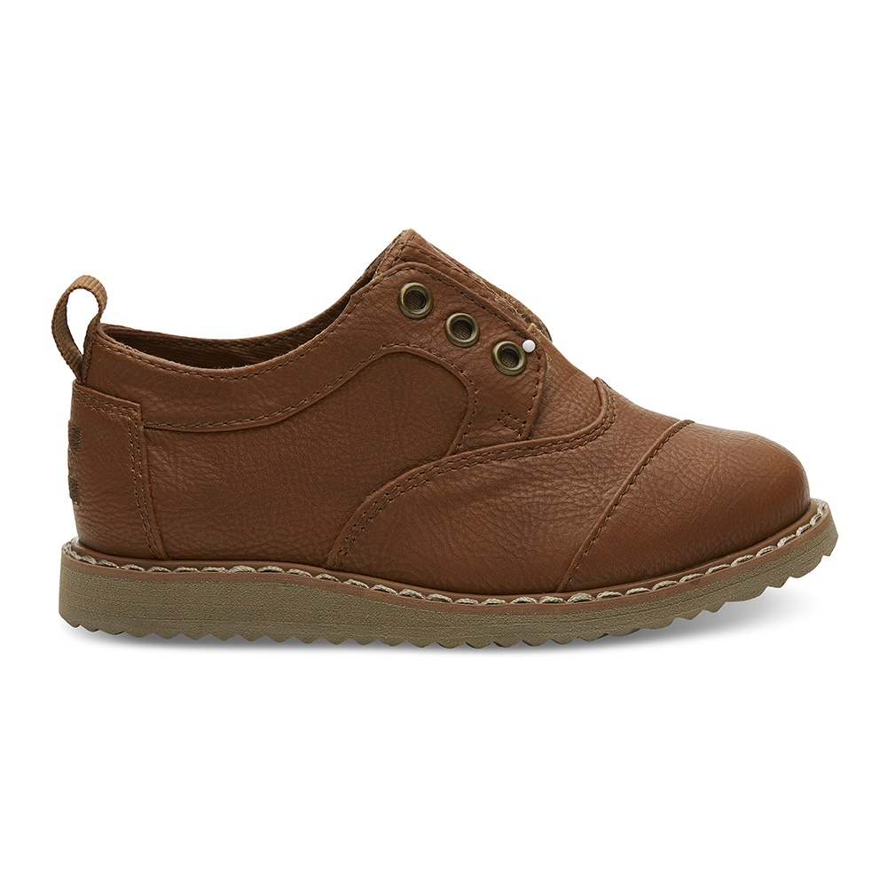 TOMS – Βρεφικά παπούτσια TOMS TOFFEE καφέ