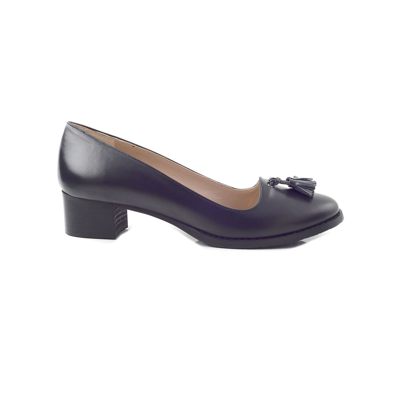 CHANIOTAKIS - Γυναικείες γόβες CHANIOTAKIS μαύρες ⋆ EliteShoes.gr e3d5b153d69