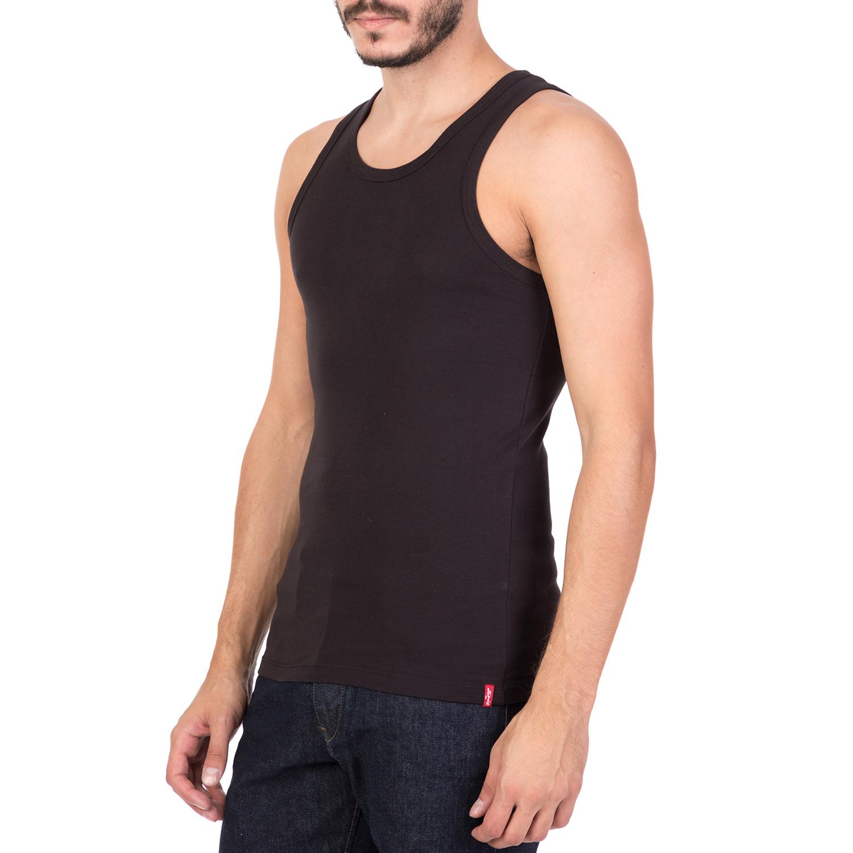 6f6e2b94f6e9 LEVI S - Σετ από 2 ανδρικές αμάνικες μπλούζες LEVI S μαύρες
